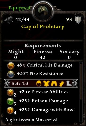 Cap of Proletary