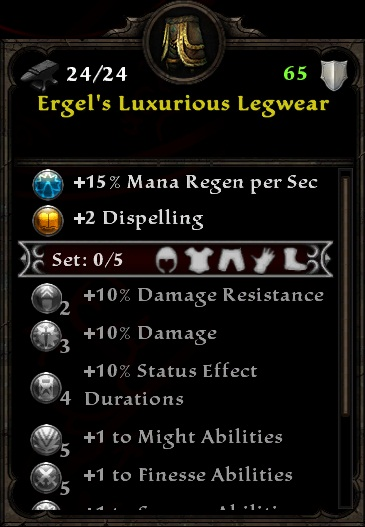 Ergel's Luxurious Legwear