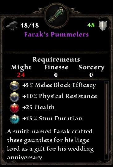 Farak's Pummelers