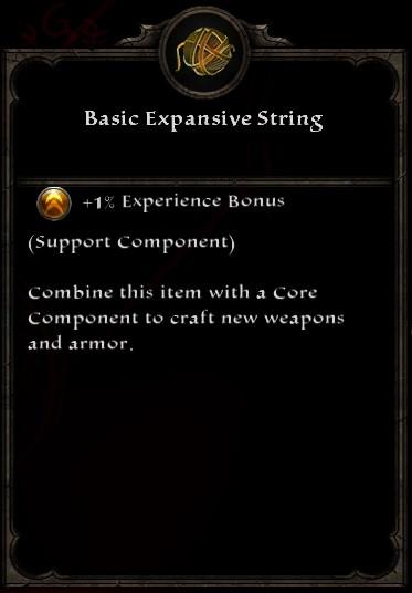 Basic Expansive String