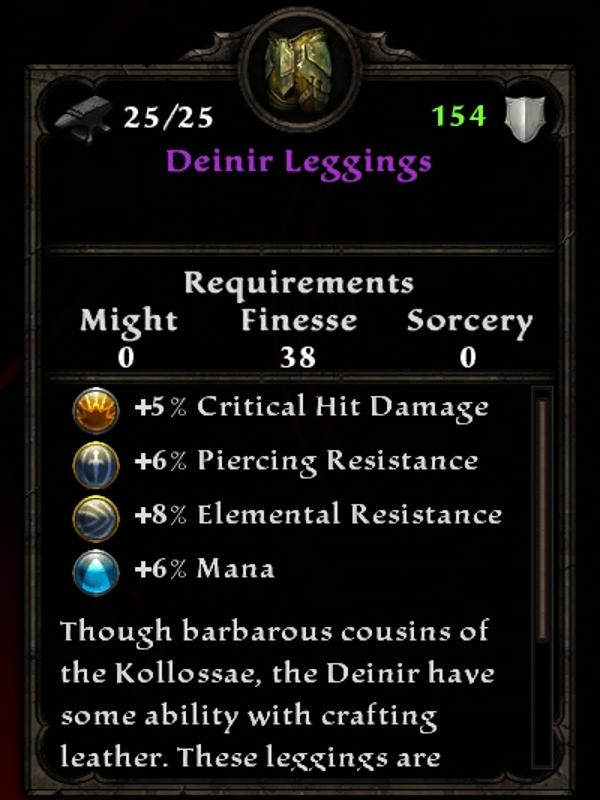 Deinir Leggings