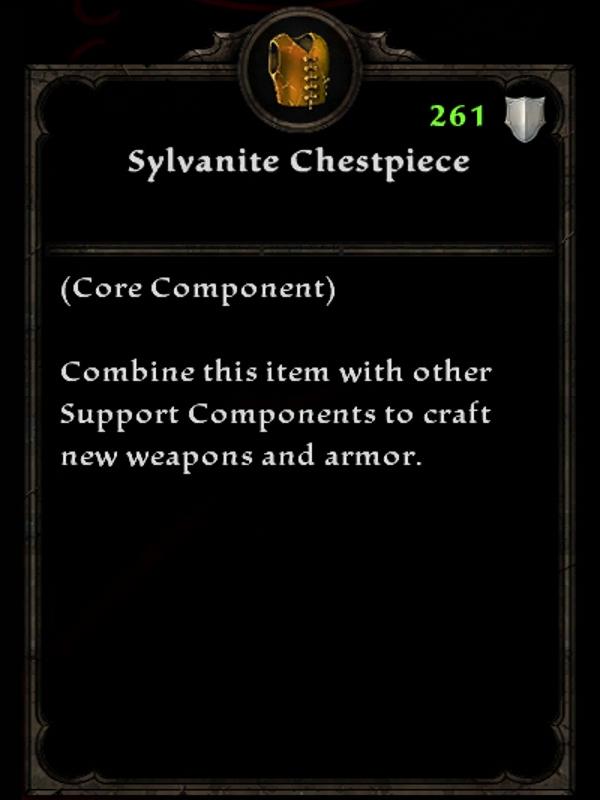 Sylvanite Chestpiece