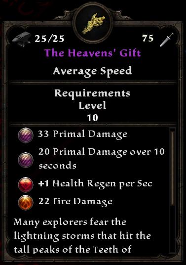 The Heavens' Gift