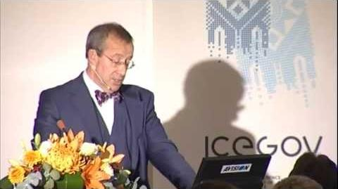 Toomas Hendrik Ilves - ICEGOV2011 opening keynote
