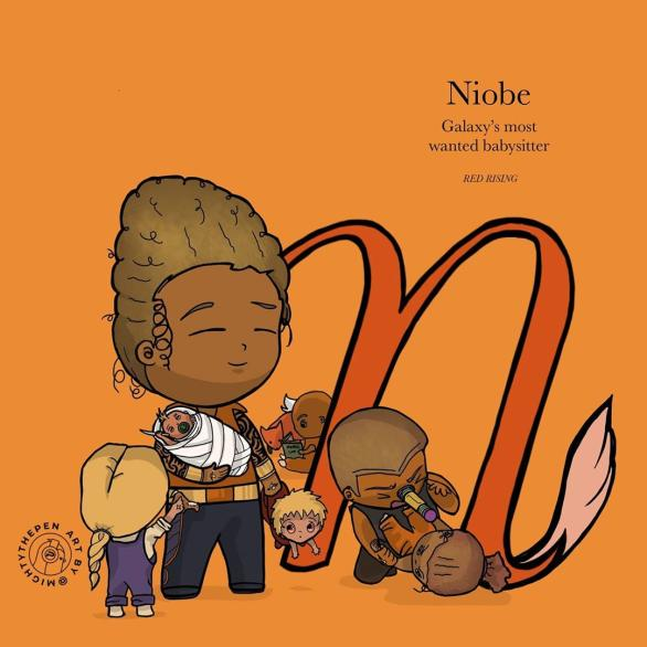 Niobe au Telemanus