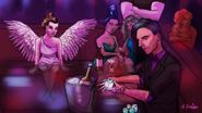 Mickey in da club wheredaydreamersgo
