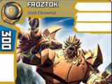 Froztok - Gold Elemental