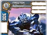 Froztok - Blue Elemental