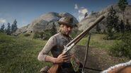 Traveller Fort Riggs Shootgun