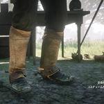 美國羚羊皮護腿