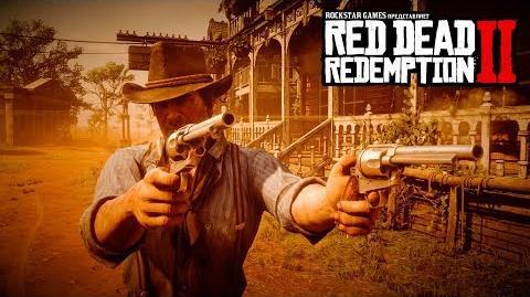 Red Dead Redemption 2 видео с демонстрацией игрового процесса, часть 2