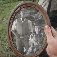 Charles Smith Family photo rdr2
