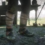 駝鹿皮護腿