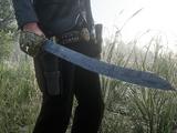 Сломанный пиратский меч