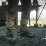 傳奇麋鹿皮護腿