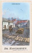 Annesburg Cigarette Card