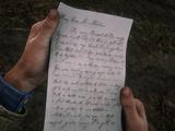 Письмо для Бонни
