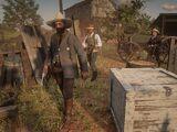 Правоохранительные органы в Red Dead Redemption 2