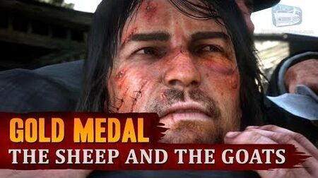 Red_Dead_Redemption_2_-_Mission_23_-_The_Sheep_and_the_Goats_Gold_Medal
