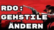 Red Dead Online Gehstile ändern-0