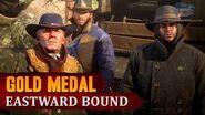 Red Dead Redemption 2 - Mission 6 - Eastward Bound Gold Medal
