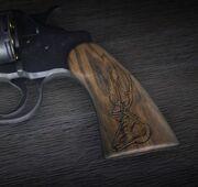 Waffe Schnitzereien Hirschbock