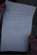 Brief von Ma an Curtis