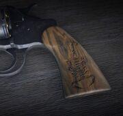 Waffe Schnitzereien Skorpion