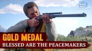 Red Dead Redemption 2 - Mission 39 - Blessed are the Peacemakers Gold Medal