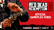 9.August 2018-RDRII erster Gameplay-Trailer