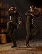 Rüpelhafter Tanz