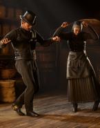 Frecher Tanz