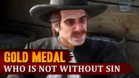 Red_Dead_Redemption_2_-_Mission_7_-_Who_is_Not_without_Sin_Gold_Medal