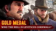 Red Dead Redemption 2 - Mission 5 - Who the Hell is Leviticus Cornwall? Gold Medal