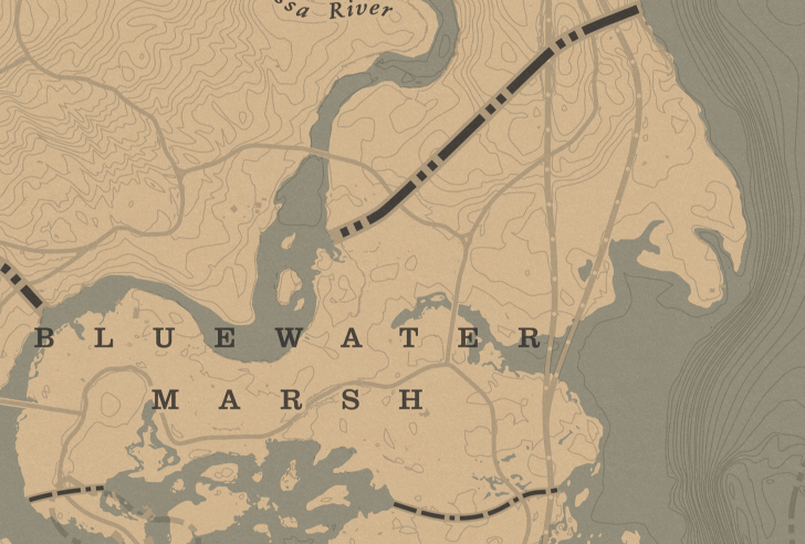 Bluewater Marsh Red Dead Wiki Fandom