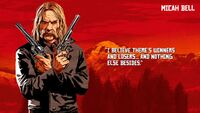 Micah Bell - Red Dead Redemption 2