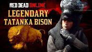 Red Dead Online - Legendary Tatanka Bison Location Animal Field Guide