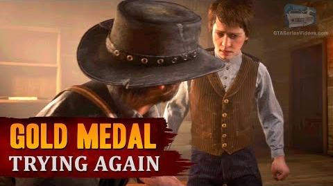 Red Dead Redemption 2 - Mission 104 - Trying Again Gold Medal