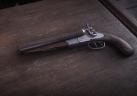 Sawed off shotgun - Red Dead 2
