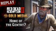RDR2 PC - Mission 93 - Home of the Gentry? Replay & Gold Medal