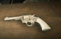 Rdr2 High Roller Double-Action Revolver on table