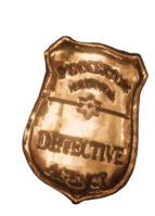Pinkerton Agency badge in game rdr2