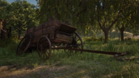Thieves' Landing wagon