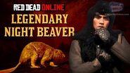 Red Dead Online - Legendary Night Beaver Mission Animal Field Guide