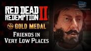RDR2 PC - Mission 32 - Friends in Very Low Places Replay & Gold Medal