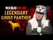 Red Dead Online - Legendary Ghost Panther Location -Animal Field Guide-