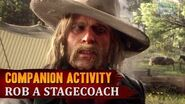 Red Dead Redemption 2 - Companion Activity 15 - Coach Robbery (Micah)