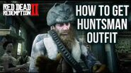 Red Dead Redemption 2 - How To Get Huntsman Outfit! Location Guide