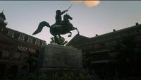 Quincy Harris Statue