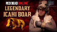Red Dead Online - Legendary Icahi Boar Mission Animal Field Guide